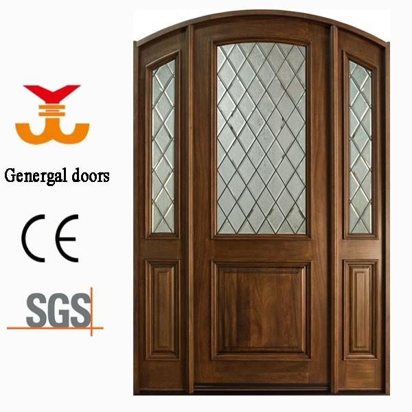 Solid Wood Villa Entry Door