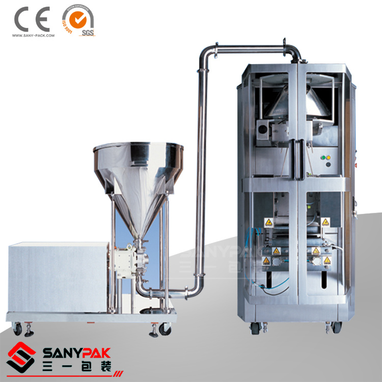Liquid/Sticky Product Auto Fill Seal Packing Machine