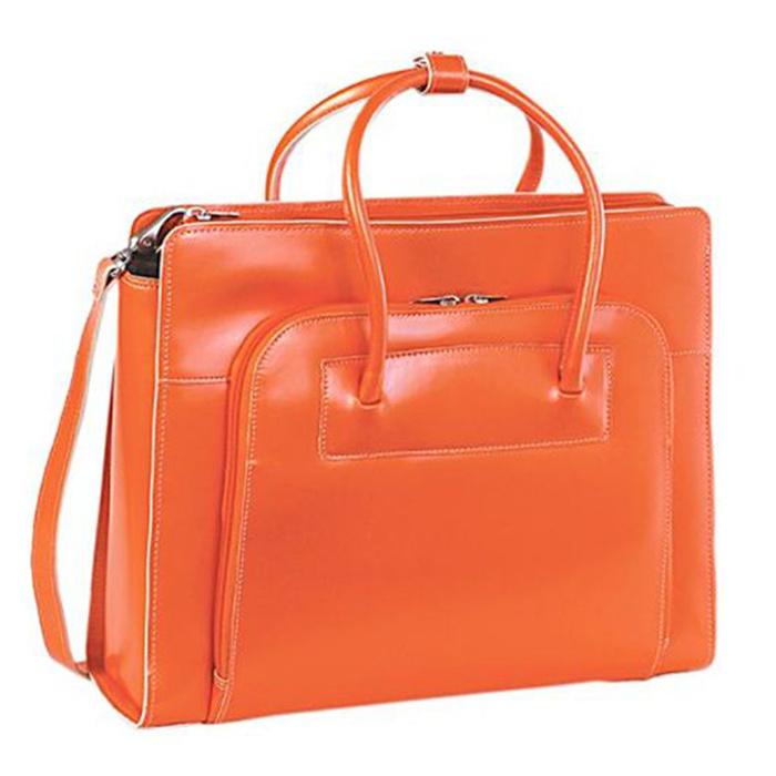 Guangzhou Suppliers Women Faux Leather Handbag Case Computer Case Laptop Bag (L-043)