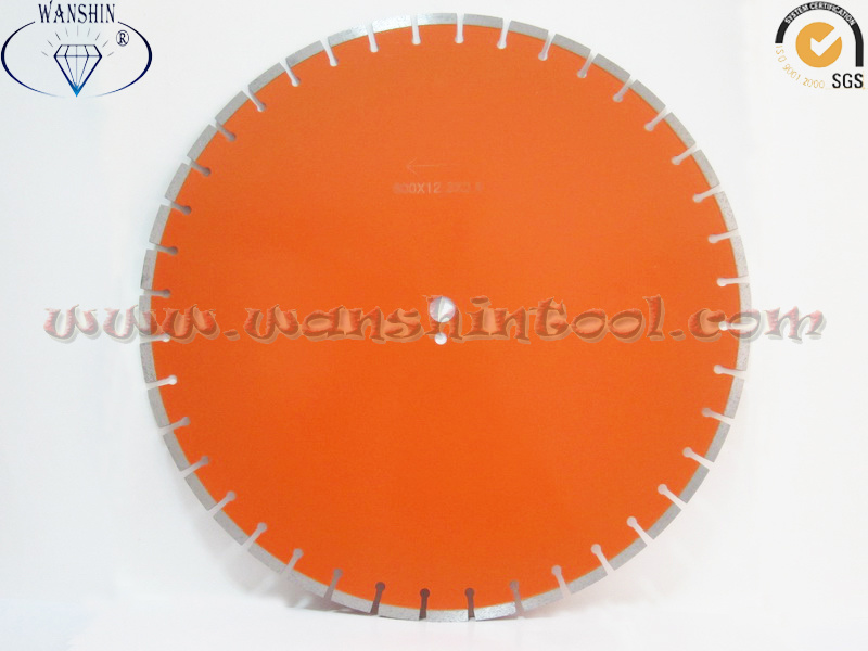 24′′ Concrete Laser Cutting Diamond Saw Blade
