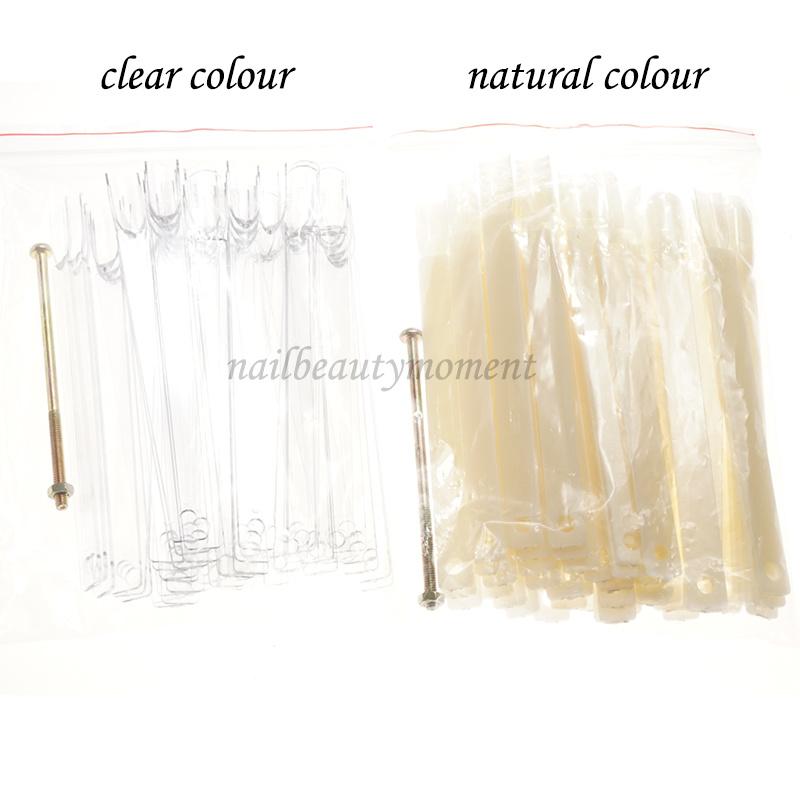 Nail Art Display Tips Sticks Color Chart Board (NT11)