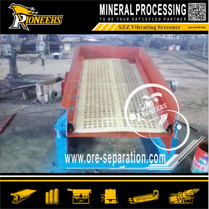 Efficiency Small Ore Vibrating Screen for Mining Screening Equipment