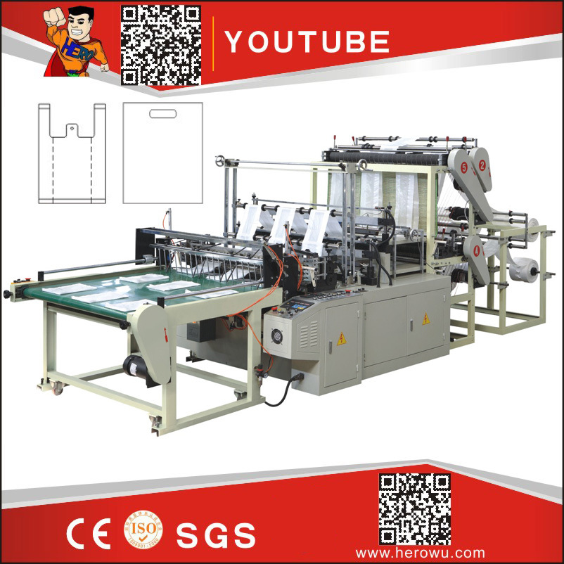 Hero Brand Heat-Sealing & Cold-Cutting Plastic Bag Making Machine (GFQ*6/GFQ*4)