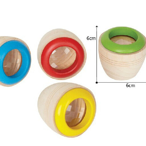 Magical Kaleidoscope, Wooden Toys for Children