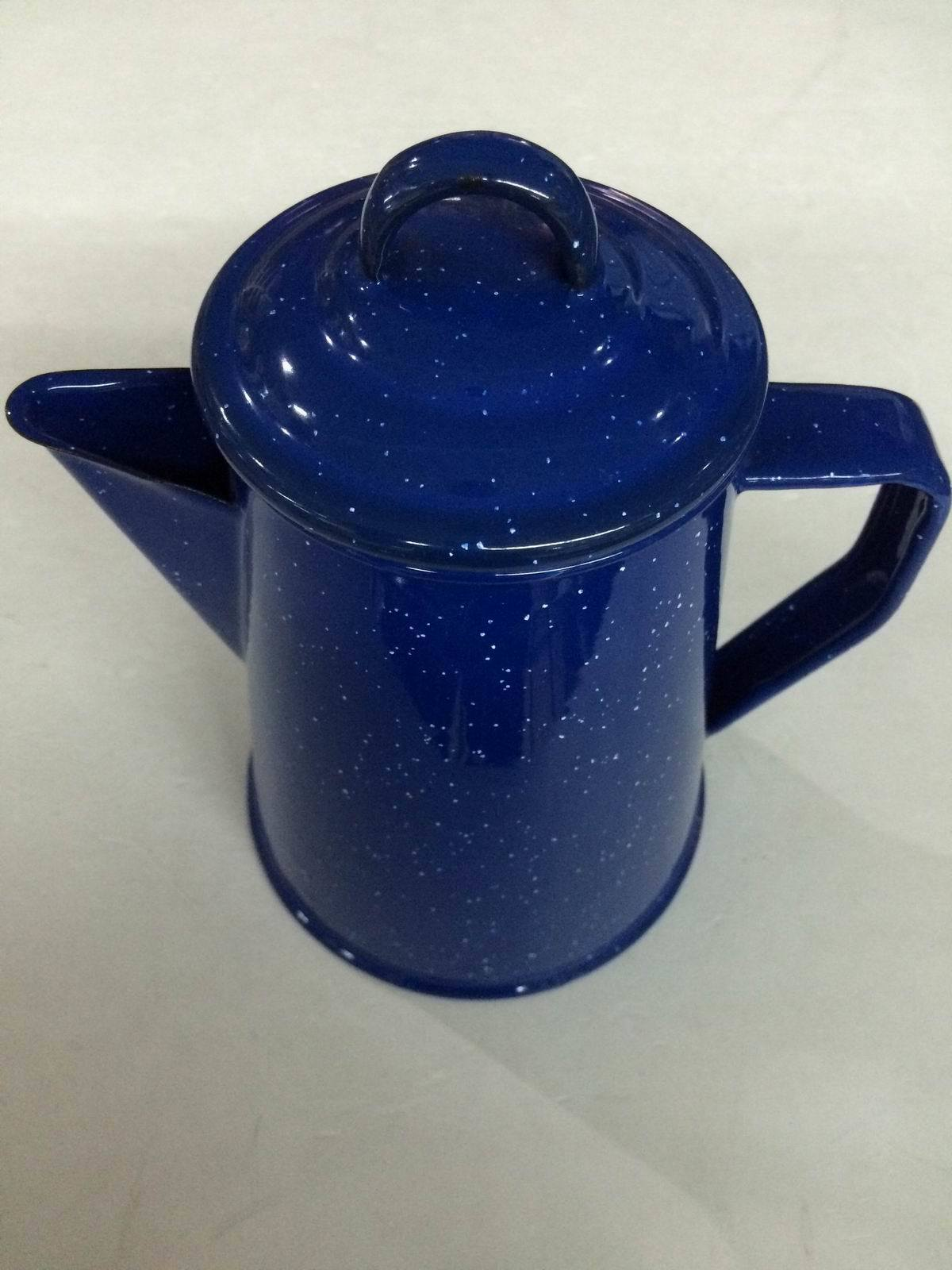 Night Sky Style Porcelain Enamel Teapot Kettle