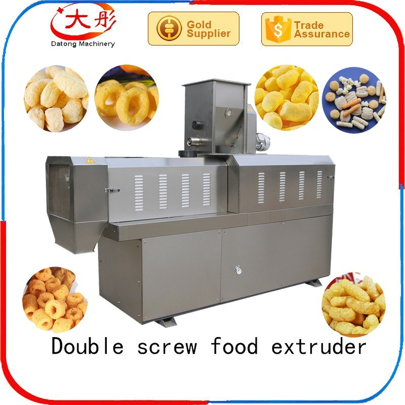 Core Filling/Inflating Rice Cereal Puffs Snack Food Machinery