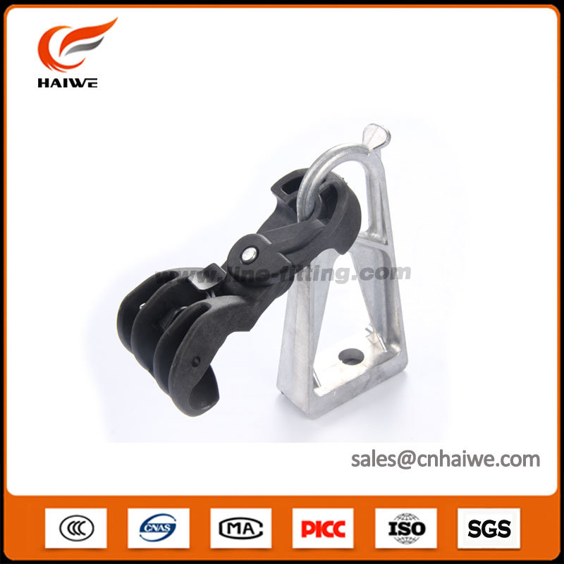 Suspension Clamp with Aluminum Bracket for LV ABC Cable