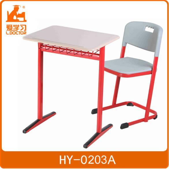 Strong Ergonomic High School Table and Chair