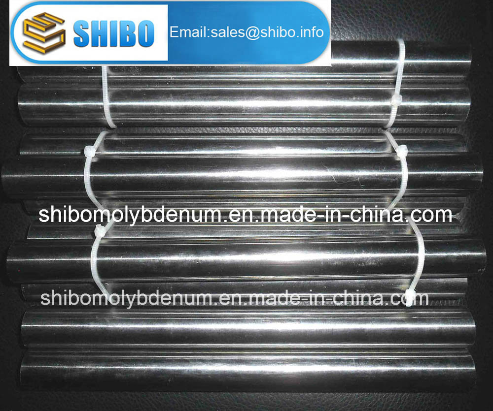 Polished Molybdenum Rods for Vacuum Furnace