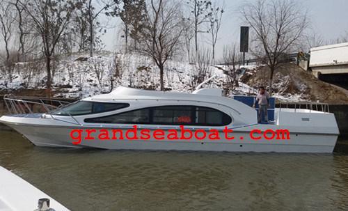 30seats Fiberglass Speed Passenger Boat/Ferry Boat/Crew Boat