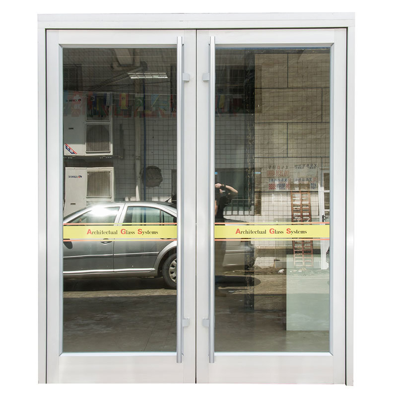 New Design Exterior Outdoor Swing Spring Aluminum Glass Doors