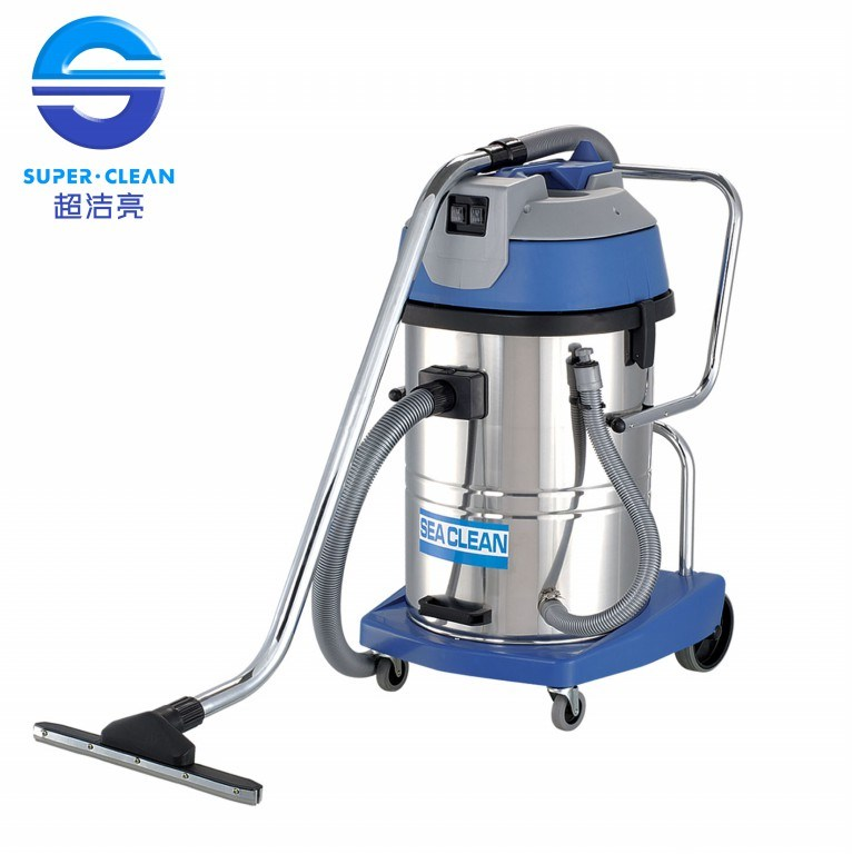 2000W/3000W 60L Wet and Dry Vacuum Cleaner with Tilt