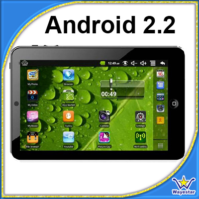 Android 2.2 Tablet PC MID With CE FCC RoHS - China Tablet Pc, Android