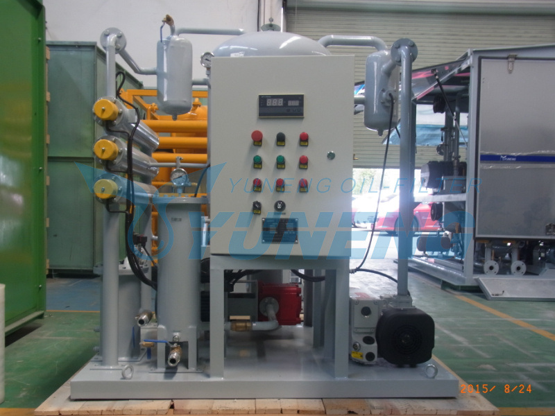 Vacuum Condenser Oil Filtration Machine Zjb Series