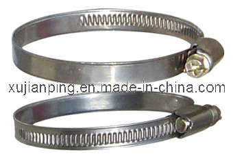 High Quality German Type Hose Clamp (H-H001)