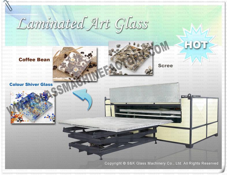 Skl-3217 (2LA) EVA Glass Laminating Machine