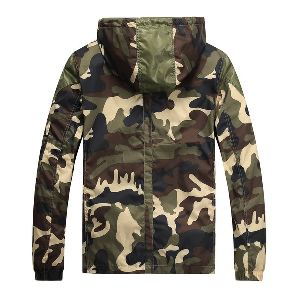 Men Camouflage Light Outdoor Spring/Autumn Fashion Jacket Coat (J-1601)