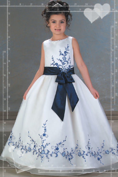 Cute flower girl dress ht 145