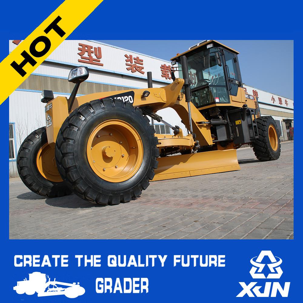 100HP Hydraulic Motor Grader Mini Grader Land Leveling Machine Py9100