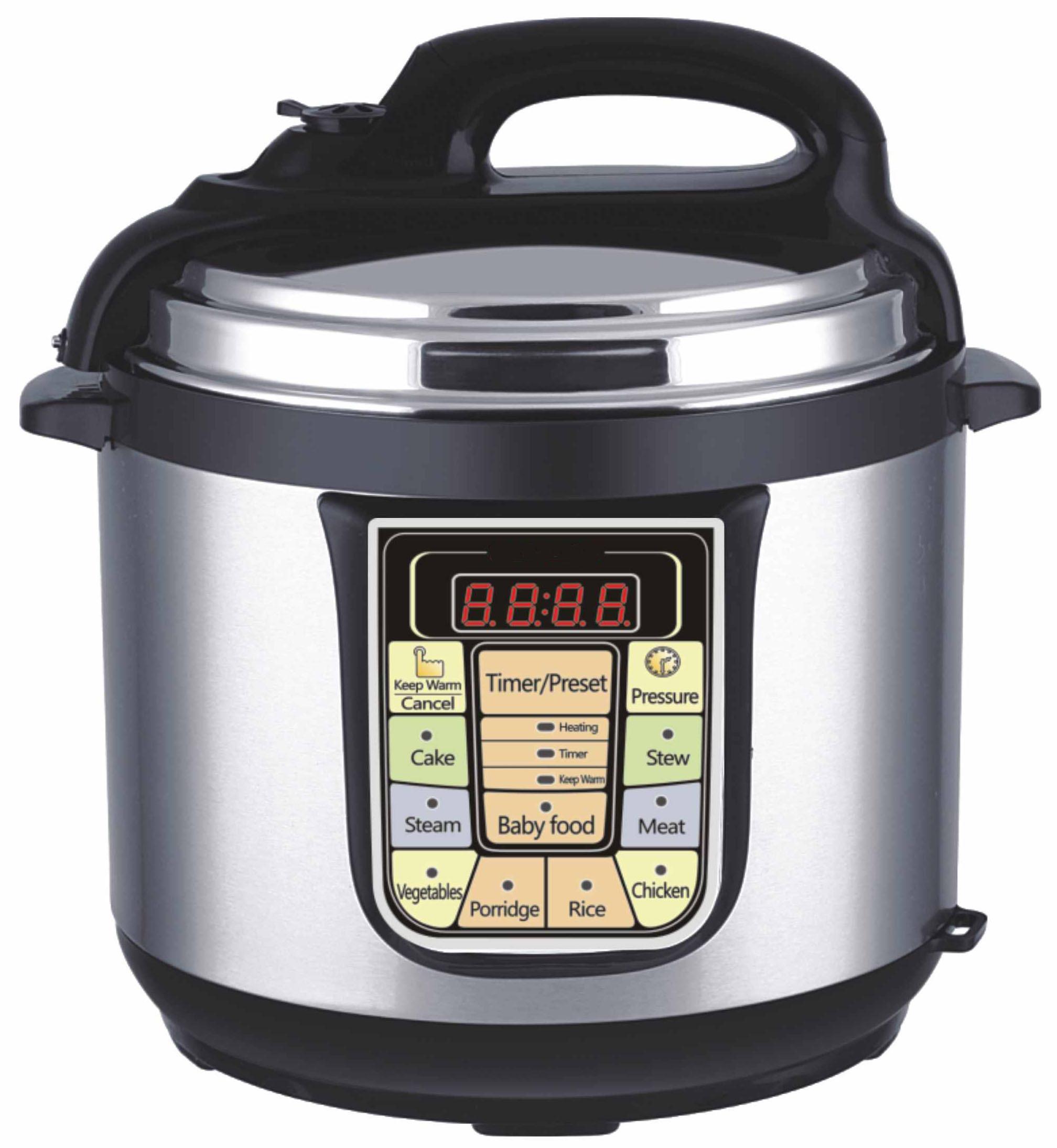 cuisinart electric pressure cooker manual