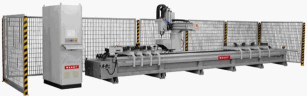 High-Speed Double Worktable CNC Processing Center for Aluminum Window 2