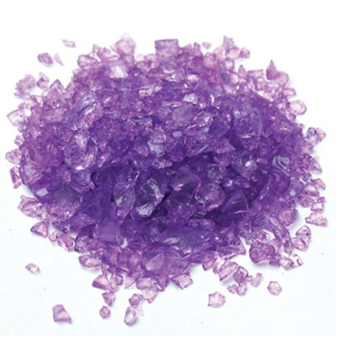 Decorative Purple Fire Glass Grit