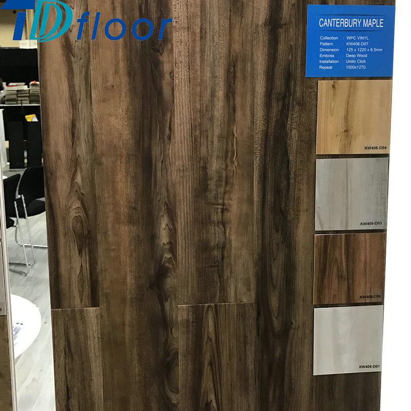Waterproof WPC Floor Wood Plastic Composite Flooring
