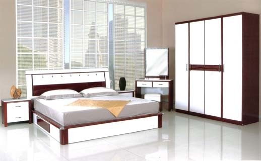 China bedroom furniture set hd 5009 china bed cabinet - Bedroom farnitures hd ...