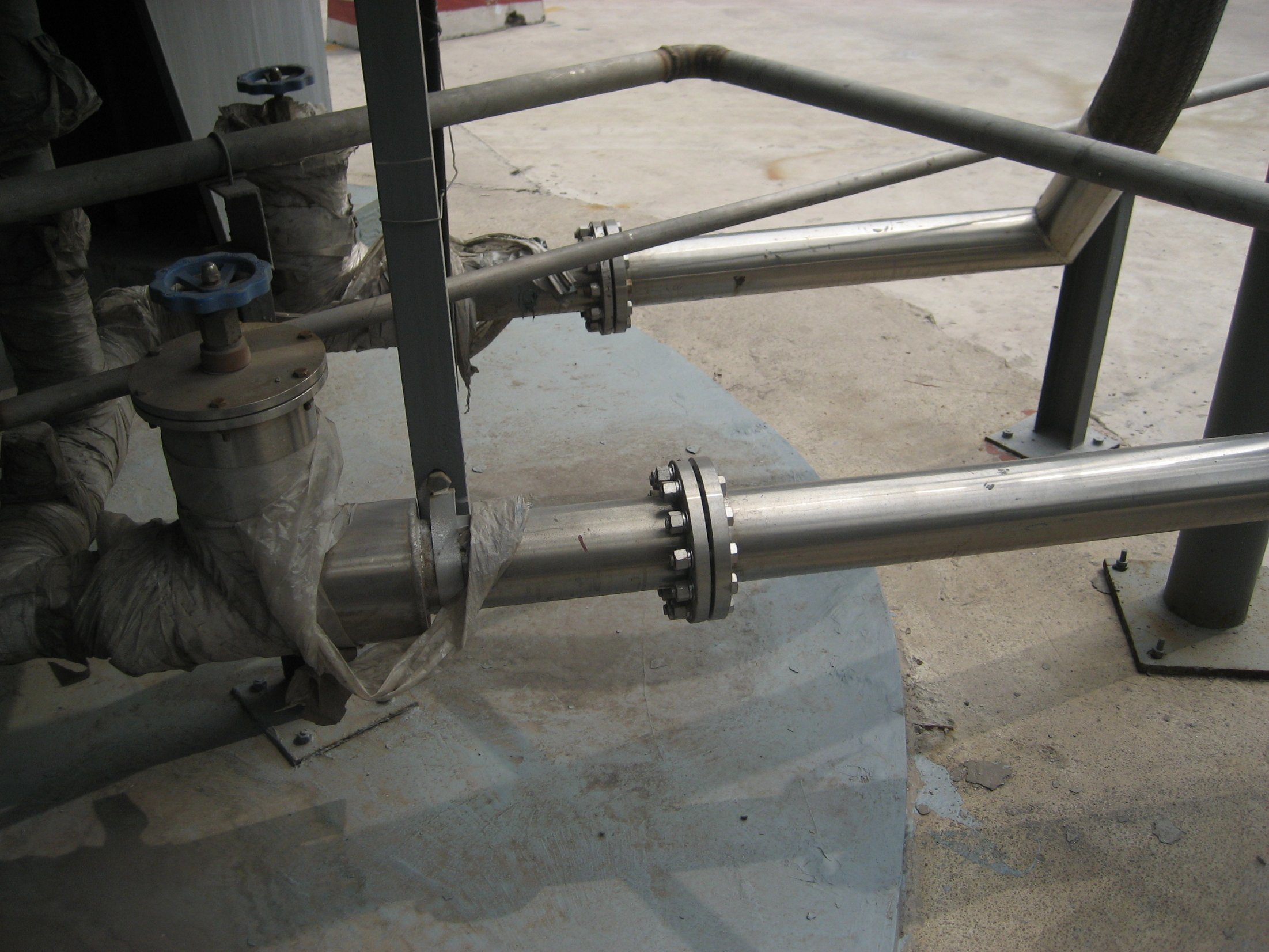 Low-Temp Heat-Insulated Pipeline with High-Vacuum & Multi-Layer