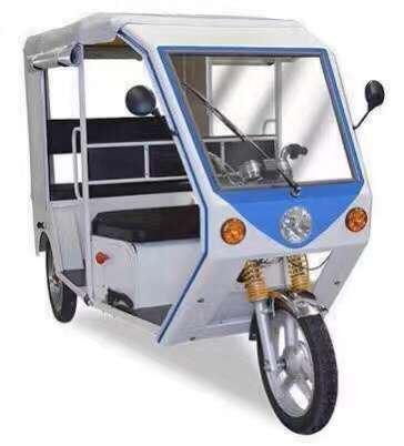 Passenger Electric Auto Rickshaw Three Wheeler Tricycle Electric Vehicle