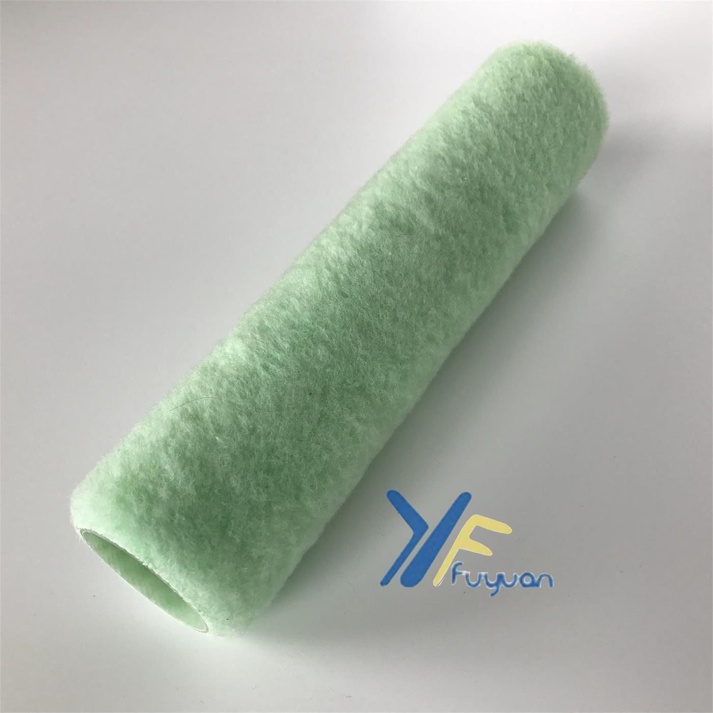 """9"""" Polyester Green Frame Roller Cover"""