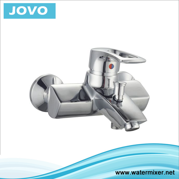 Contemporary Good Chrome High Quality Single Handle Bath Mixer Jv71302