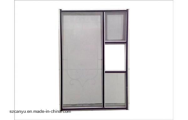 Home Anti-Theft Retractable Screen Construction Windows and Door