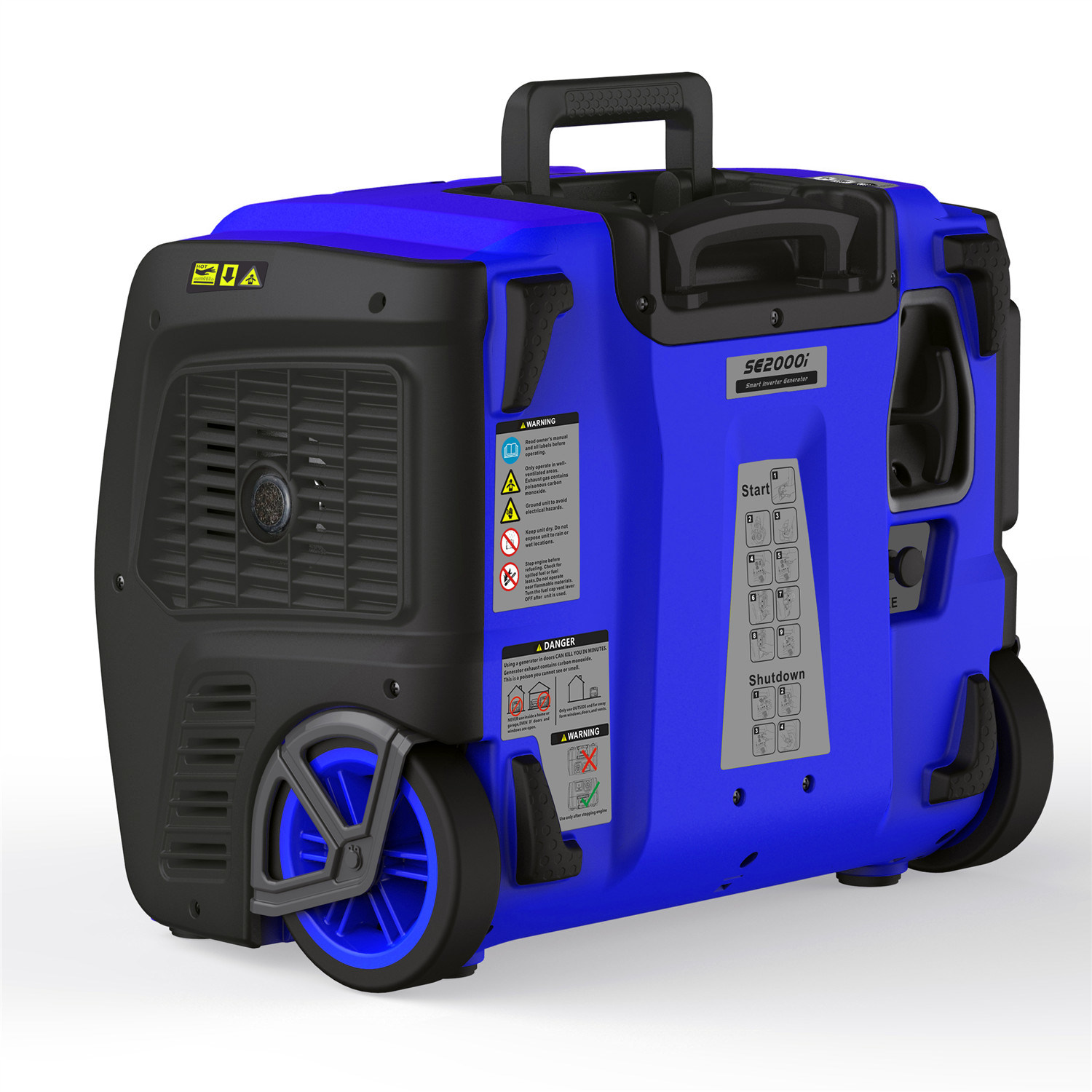 2kw Portable Digital Inverter Generator with GS/Ce/ETL/EPA/Carb/E13