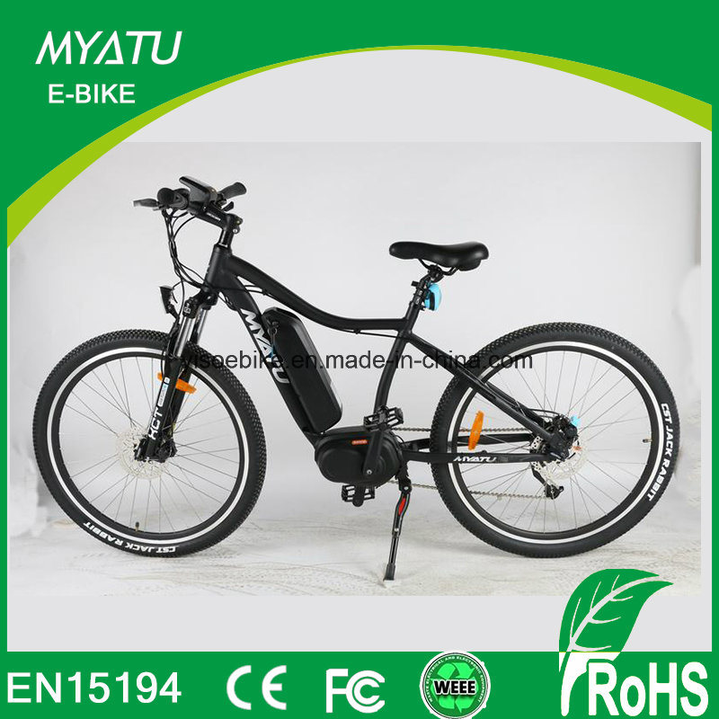 China Myatu Crank Motor Electric Bike With Bafan Torque Sensor
