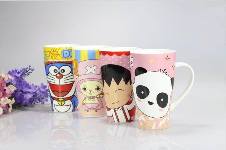 Color Glazed Customized Design Coffee Tea Ceramic Cups Mugs