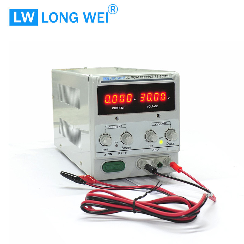150W PS305df High-Precision 0-30V 0-5A Adjustable Linear DC Power Supply for The Mobile Repair