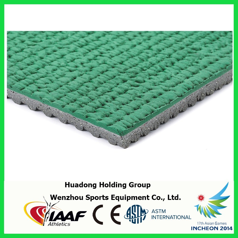 9mm Rubber Flooring Rolls, Auxiliary Running Track, Subsidiary Runway