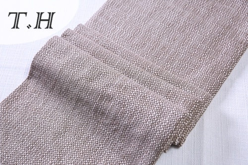 100% Polyester Poly Linen Fabric for Sofa and Furniture (FTD31077)