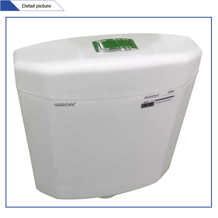 Jet-105 Factory Wall Mounted Plastic Cheap Flushing Cistern Price