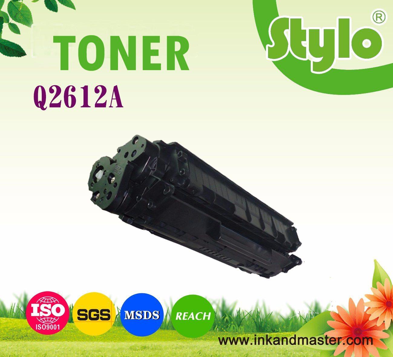 Laser Printer Toner Cartridge 12A (Q2612A) for HP 1010/1015/1012/3015/3020 Printer