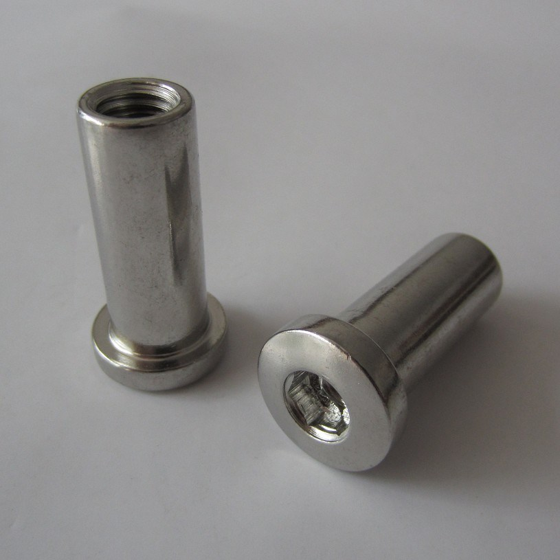 Stainless Steeldome Head Internal Thread Right/Left Thread