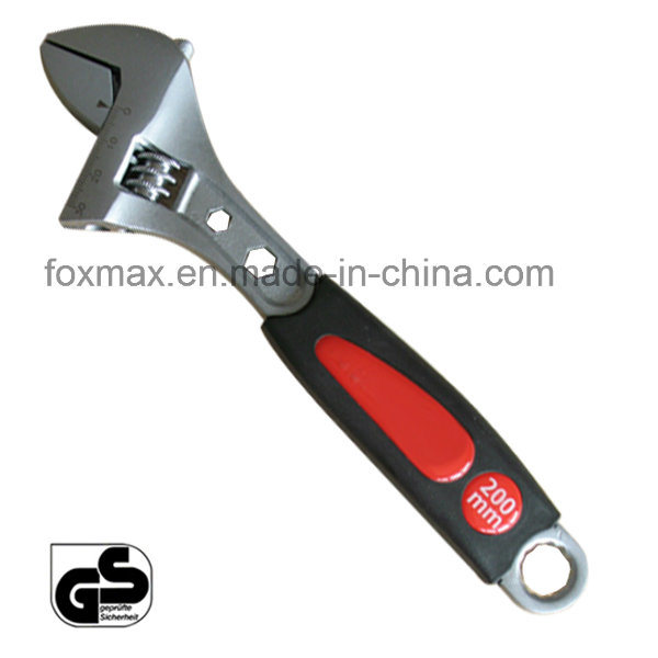 Multi- Use Adjustable Wrench with Big Grip Handle (WB-002)
