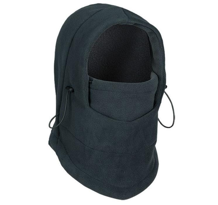 Top Level Polar Fleece Balaclava Winter Cap Masked Hat