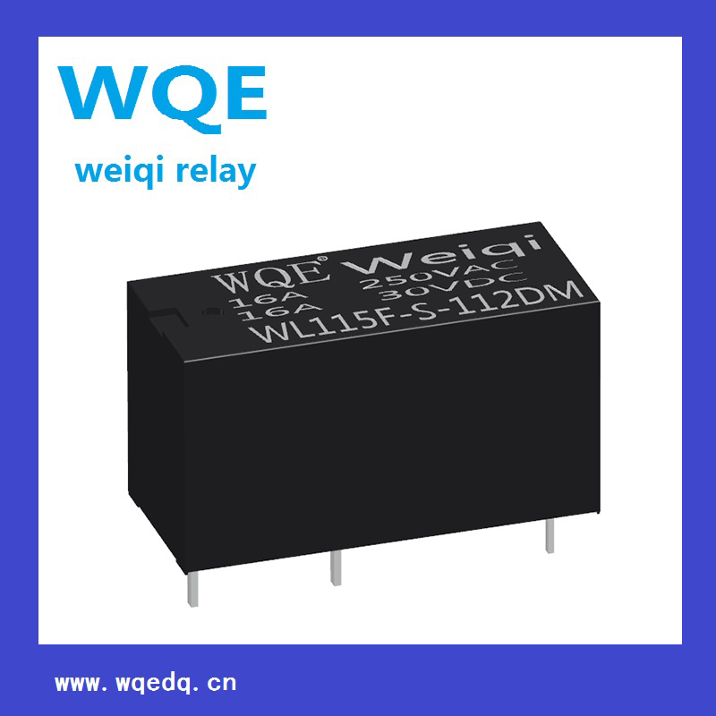 Miniature Size Power Relay for Household Appliances &Industrial Use 16A PCB Relay (WL115F)