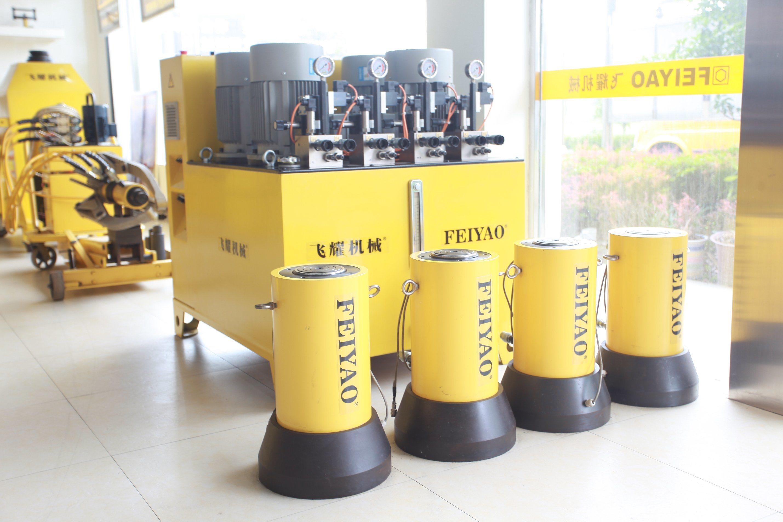 Large Hydraulic Cylinder Professional Double Acting Long Stroke Hydraulic Cylinder
