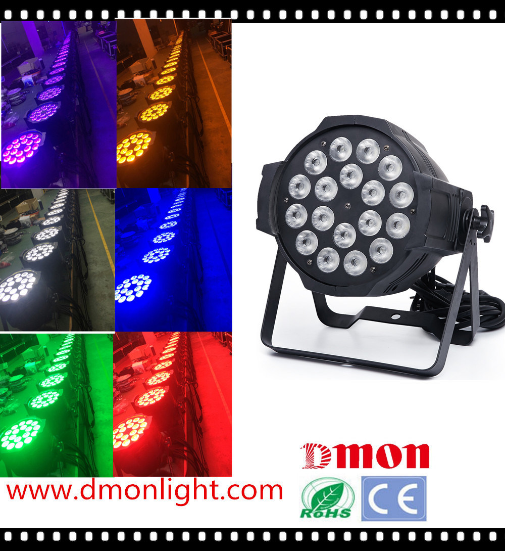High Performance 18PCS 10W 5in1 LED Wallwash PAR Light