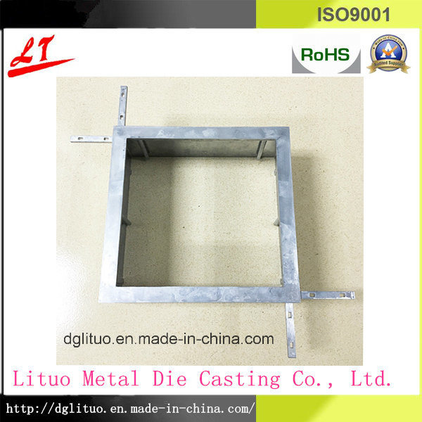 China Manucture Hardware Metal Aluminum Die Casting Shelf Parts