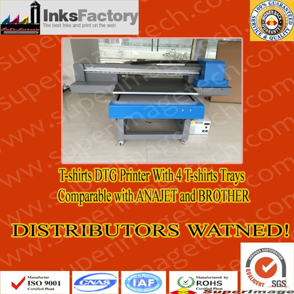 European Distributors Wanted: DTG T-Shirts Printers with 4 Trays