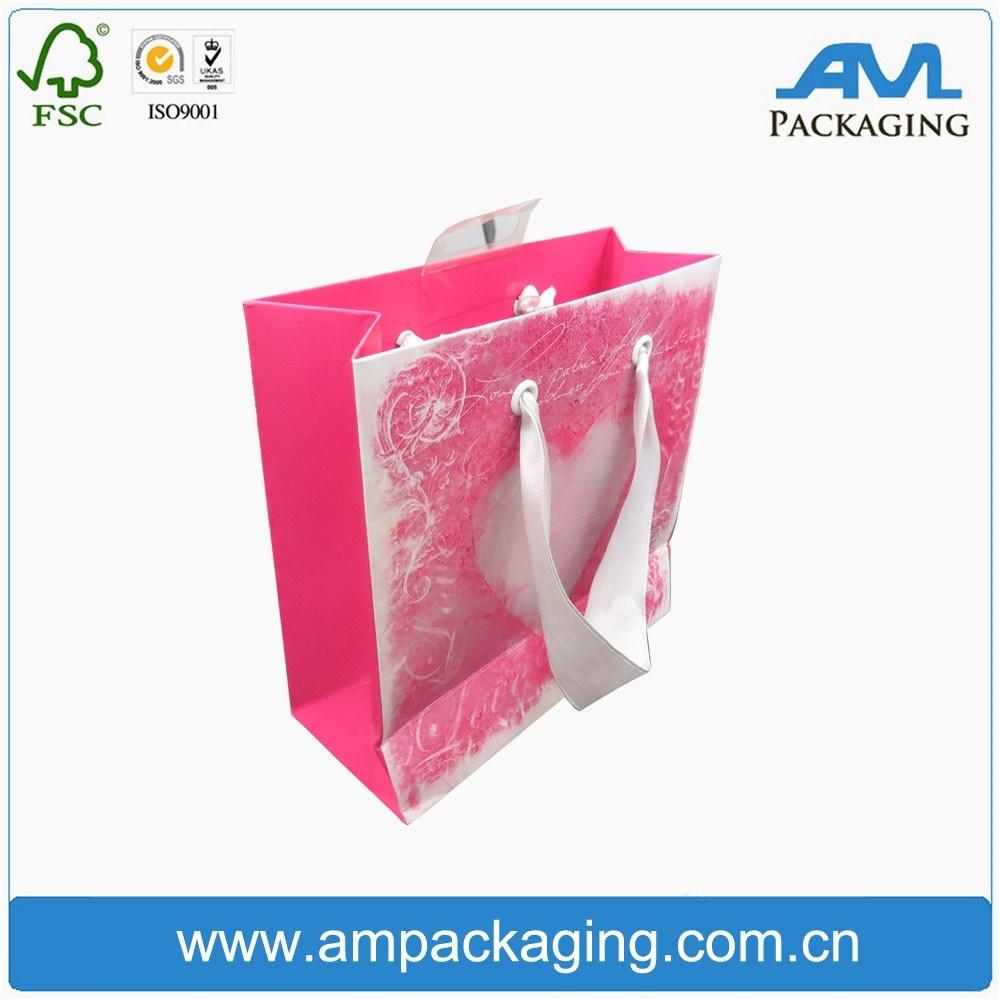 Bespoke Paper Bag Custom Shopping Folding Kraft Gift Bag Design